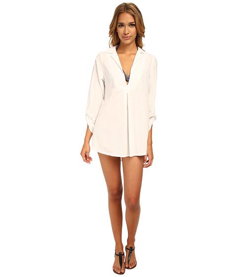 Splendid - Topanga Tunic Cover-Up (White) Women's Swimwear
