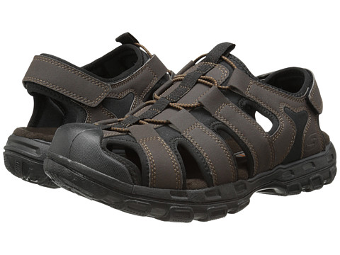 SKECHERS - Gander (Chocolate) Men's Sandals