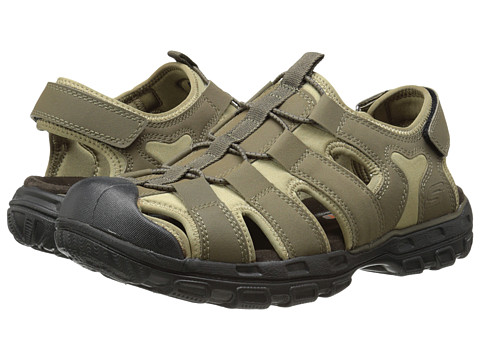 SKECHERS - Gander (Taupe) Men's Sandals
