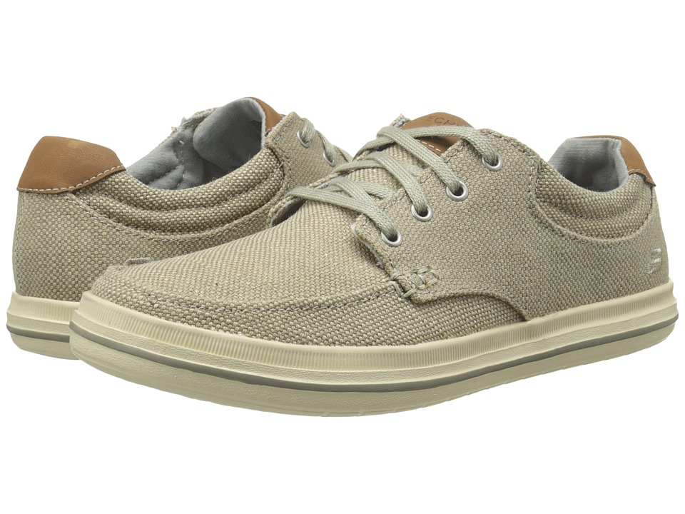 SKECHERS - Relaxed Fit Define - Soden (Khaki) Men's Lace up casual Shoes