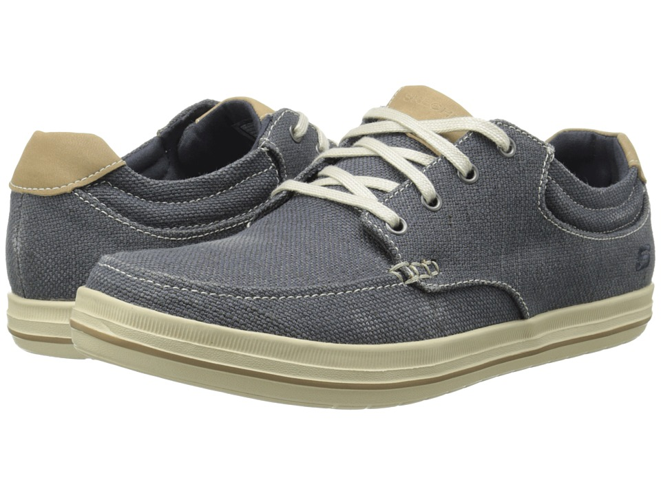 SKECHERS - Relaxed Fit Define - Soden (Navy) Men's Lace up casual Shoes