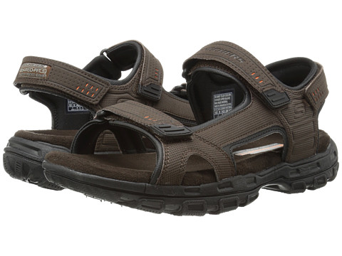 SKECHERS - Gander Louden (Brown) Men's Sandals
