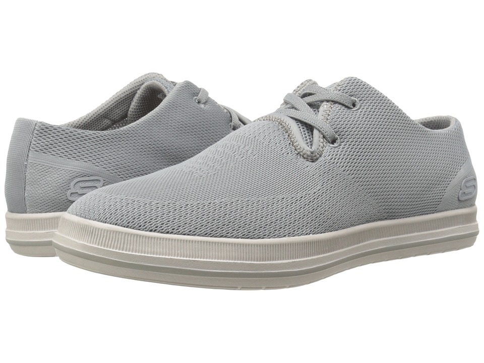 SKECHERS Relaxed Fit Define Volkan (Gray) Men
