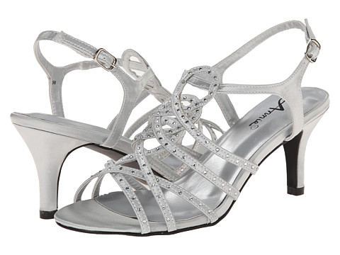 Annie - Lax (Silver) High Heels