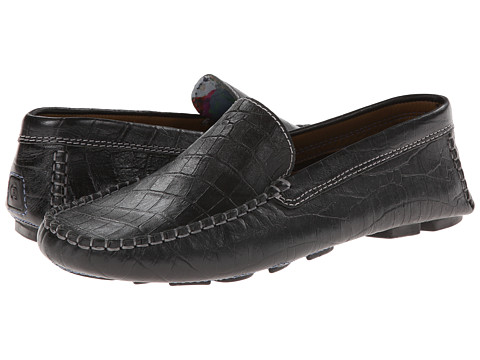 Robert Graham - Verrazano Croc (Black Croc) Men