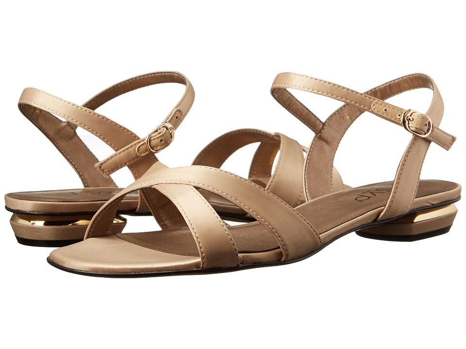 rsvp - Blanca (Champagne Satin) Women's Dress Sandals