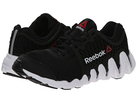 Reebok Kids - ZigTech Big N Fast EX (Little Kid) (Black/White) Boys Shoes