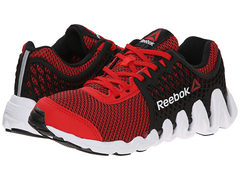 Reebok Kids - ZigTech Big N Fast EX (Little Kid) (Red Rush/Black/White) Boys Shoes