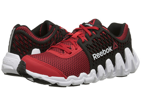 Reebok Kids - ZigTech Big N Fast EX (Big Kid) (Red Rush/Black/White) Boys Shoes