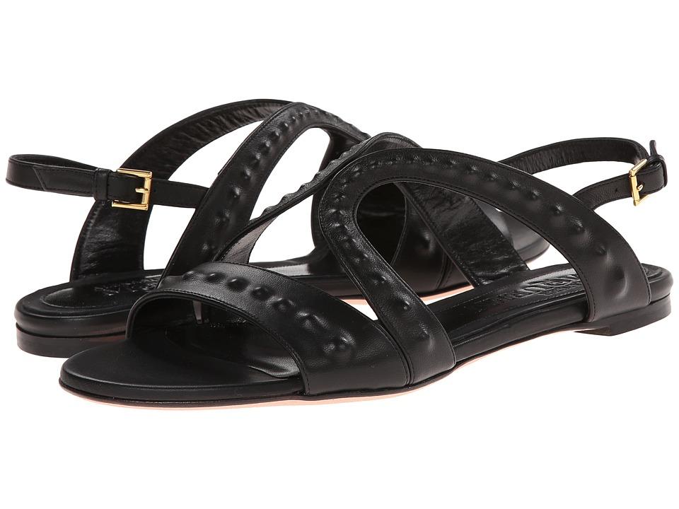 Alexander McQueen - Sandal Pelle S. Cuoio (Black) Women's Sandals