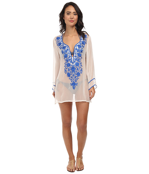 Ella Moss - Cabana Tunic Cover-Up (Deep Blue) Women's Swimwear