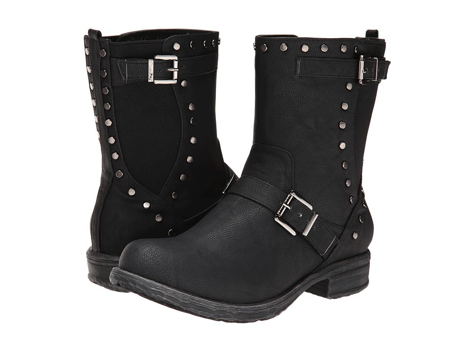 C Label - Romo-2 (Black) Women's Boots
