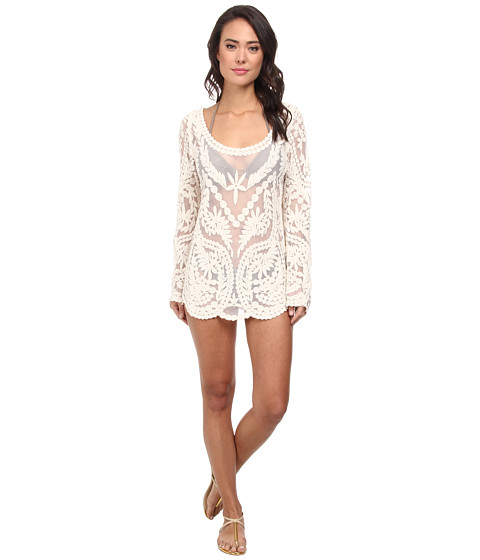 Ella Moss - Cabana Tunic Cover-Up (Cream) Women