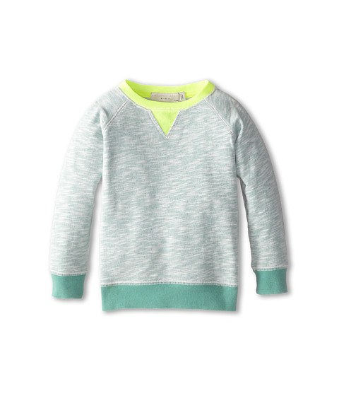 Stella McCartney Kids - Murphy Heathered Crew Neck Sweater (Toddler/Little Kids/Big Kids) (Green) Boy