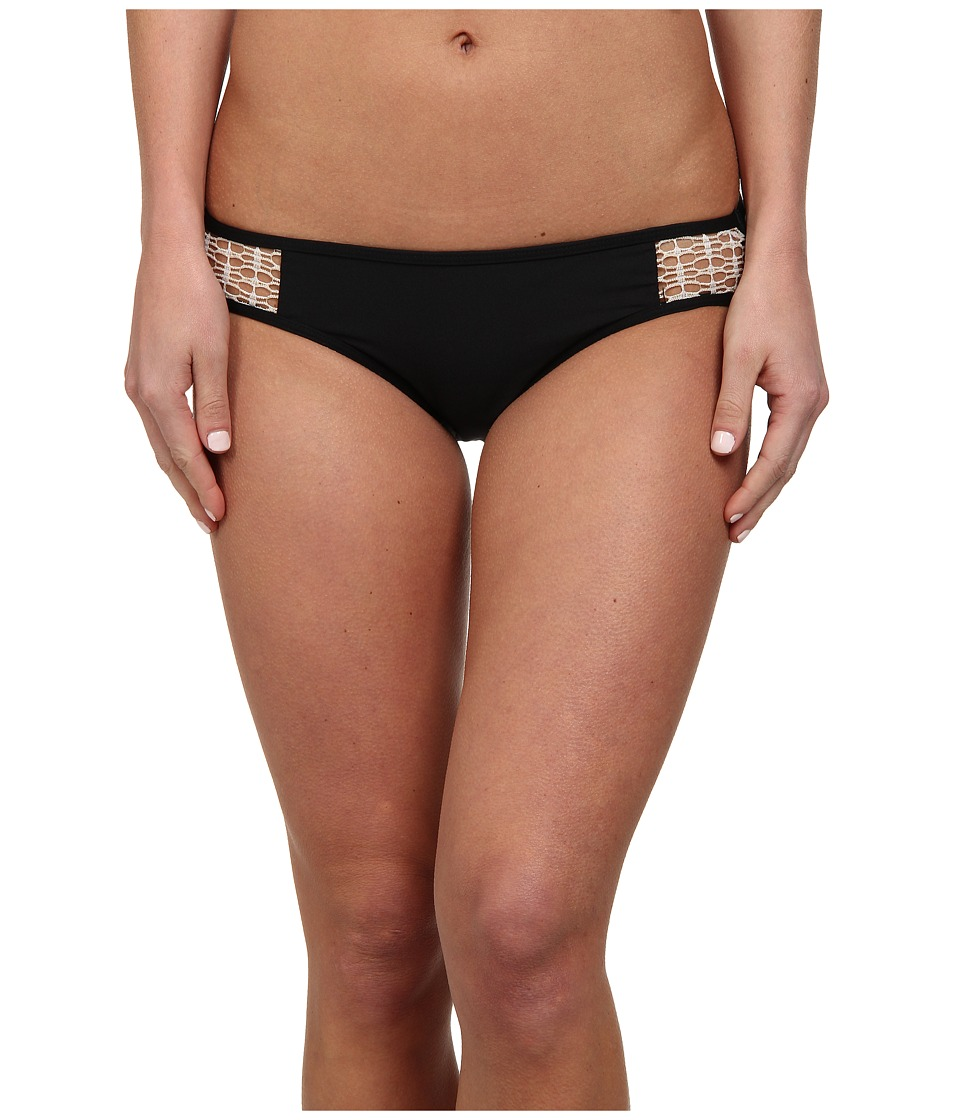 Ella Moss - Solid Retro Pant (Black) Women's Swimwear
