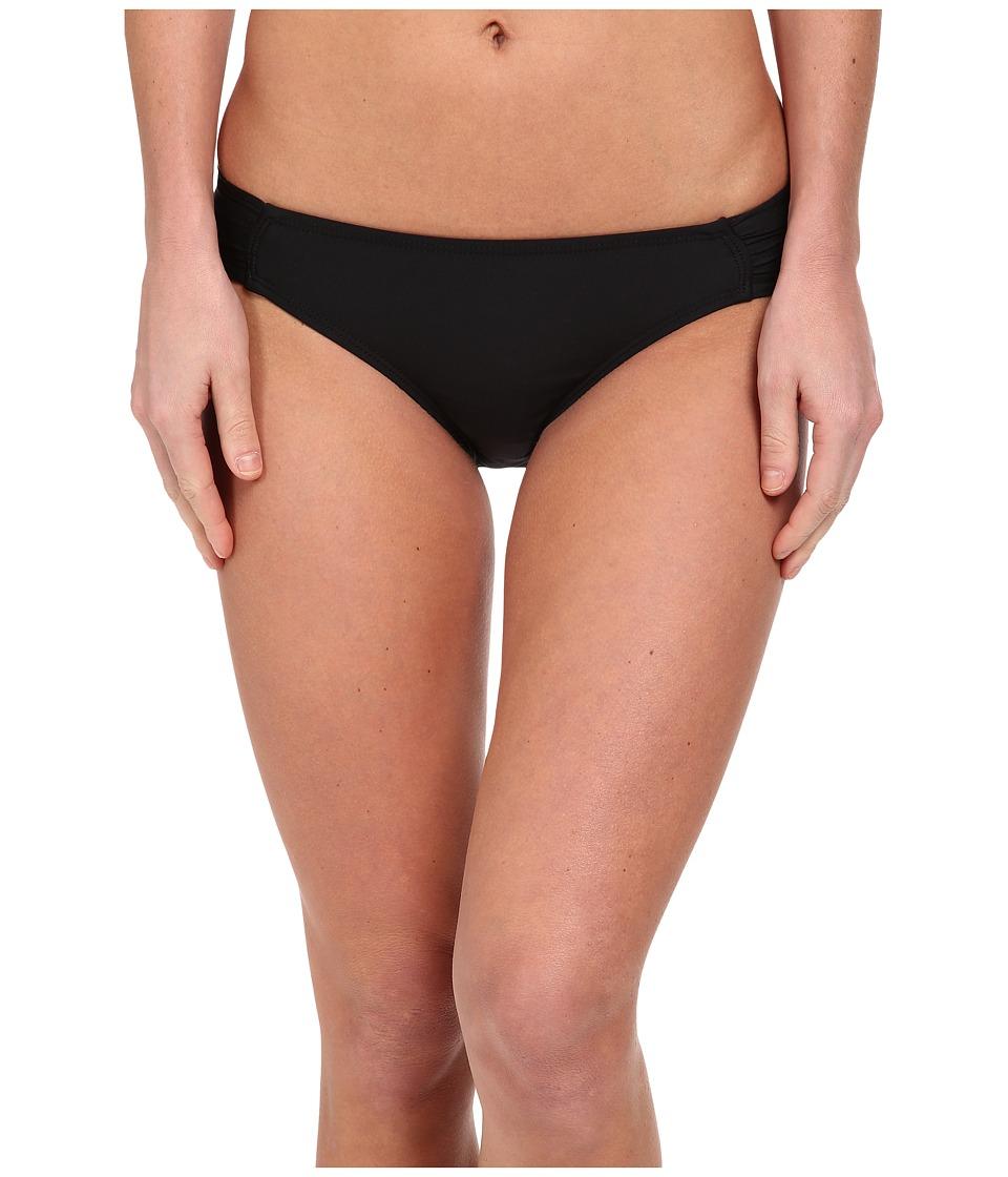 Ella Moss - Solid Tab Side Pant (Black) Women's Swimwear