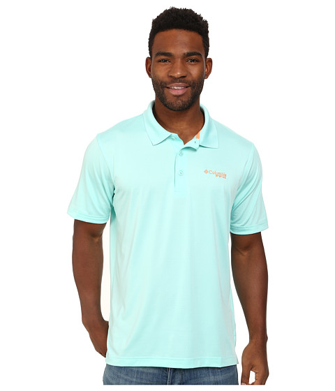 Columbia - Low Drag Polo (Gulf Stream/Jupiter) Men's Short Sleeve Pullover