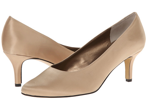 rsvp - Lacina (Champagne Satin) Women's Sling Back Shoes