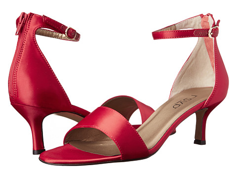 rsvp - Mikayla (Red Satin) Women's Dress Sandals