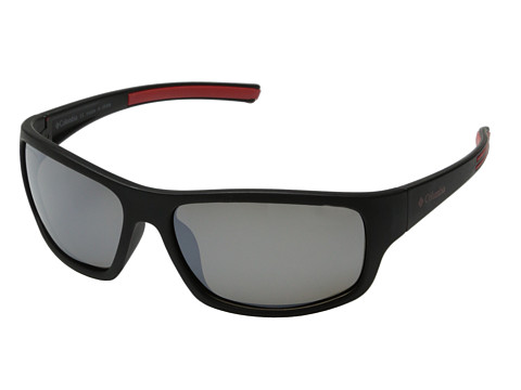 Columbia - 502 (Matte Black/Grey Flash Polarized) Sport Sunglasses