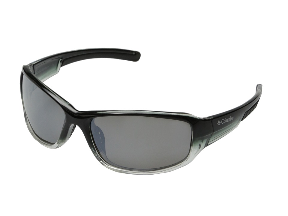 Columbia - 802 (Black Crystal Fade/Grey Flash Polarized) Sport Sunglasses