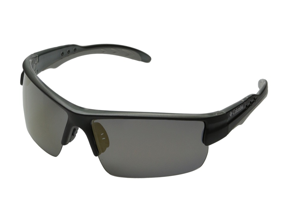 Columbia - 903 (Matte Black/Bronze Flash Polarized) Sport Sunglasses