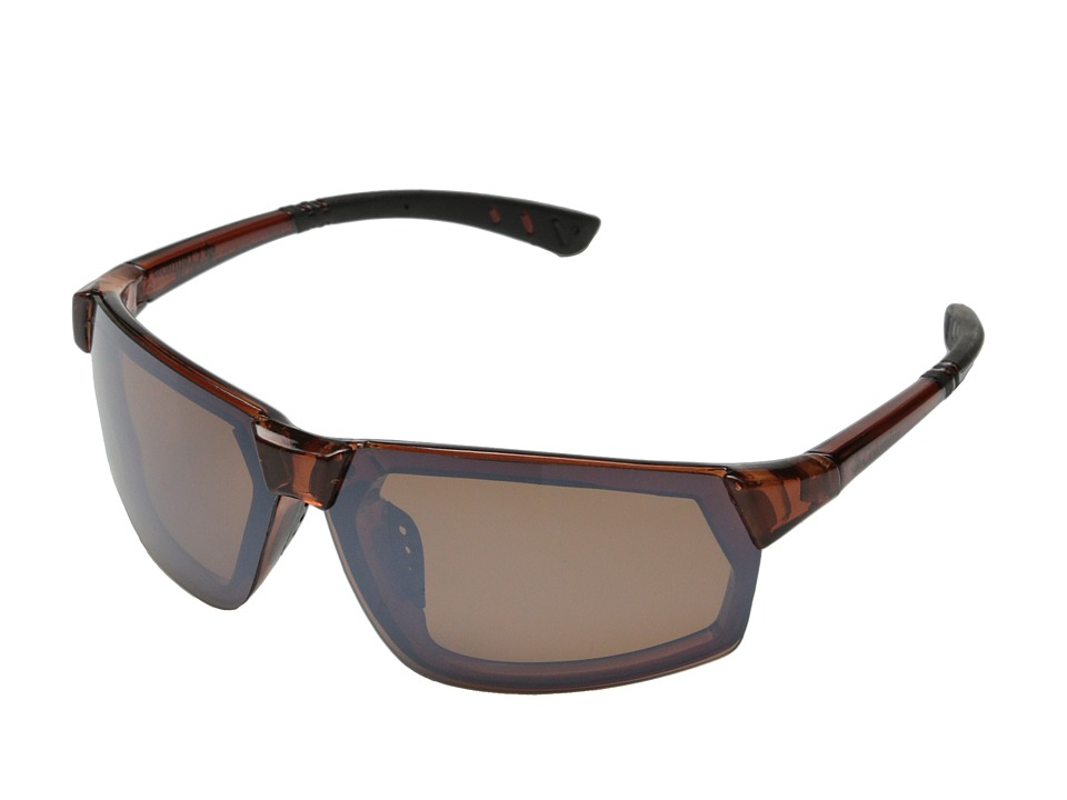 Columbia - 202 (Crystal Brown/Brown Flash Polarized) Sport Sunglasses