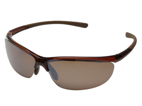 Columbia - 602 (Crystal Brown/Brown Flash Polarized) Sport Sunglasses