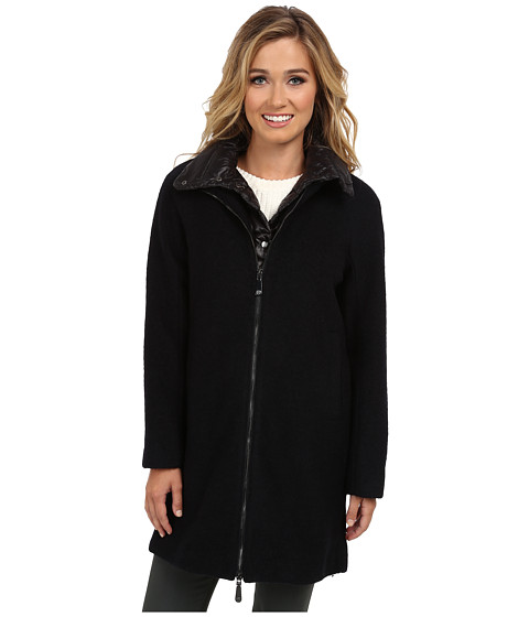 Vince Camuto - G8331 (Navy/Black) Women's Coat