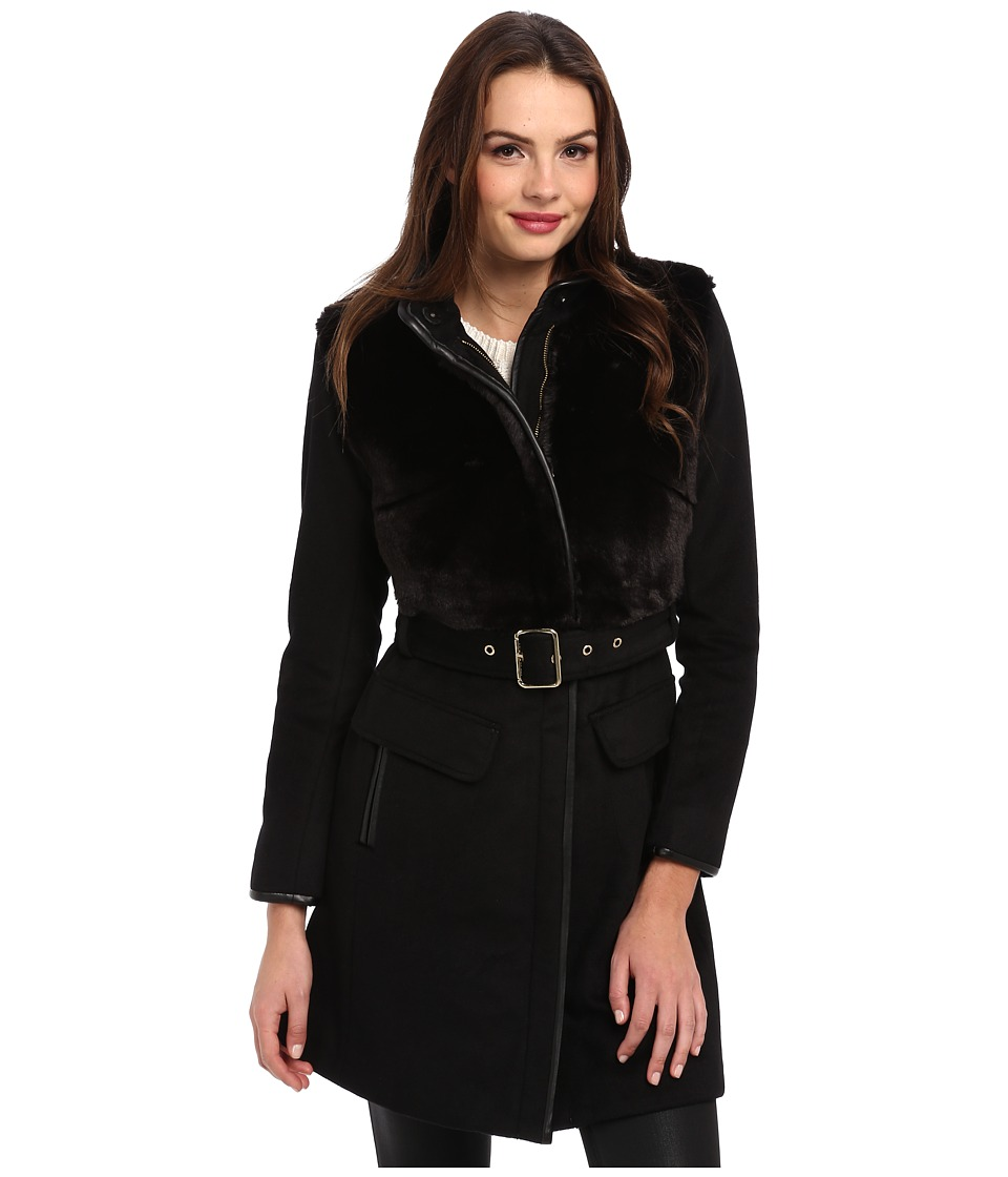 Vince Camuto - G8451 (Black) Women's Coat