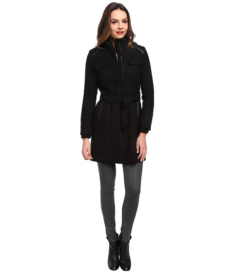 Vince Camuto - G8571 (Black) Women's Coat