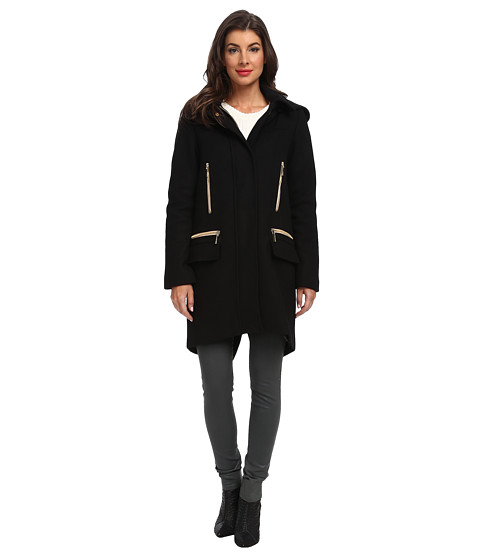 Vince Camuto - G8281 (Black) Women's Coat