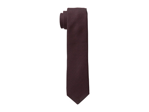 John Varvatos Star U.S.A. - Washed Houndstooth (Burgundy) Ties