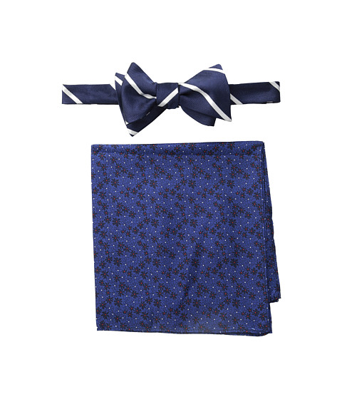 Tommy Hilfiger - Stripe Flower Set (Navy) Ties