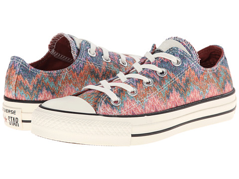 Converse - Chuck Taylor All Star Ox Missoni - Cotton Lurex (Egret/Multi) Athletic Shoes