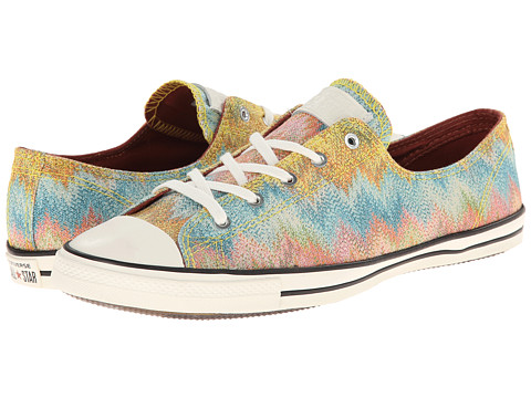Converse - Chuck Taylor All Star Fancy Ox Missoni - Cotton Lurex (Citrus/Multi) Women's Shoes