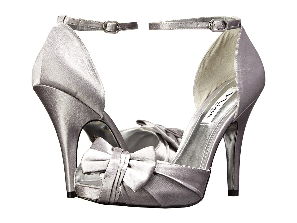 Nina - Ella (Royal Silver) Women's Shoes