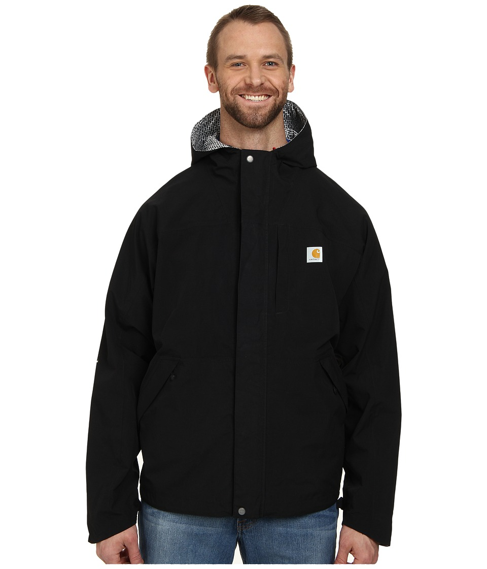 Carhartt - Big Tall Shoreline Vapor Jacket (Black) Men's Jacket