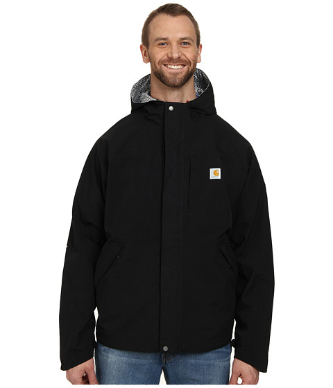 Carhartt - Big Tall Shoreline Vapor Jacket (Black) Men