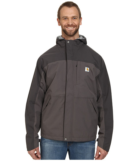 Carhartt - Big Tall Shoreline Vapor Jacket (Shadow/Charcoal) Men