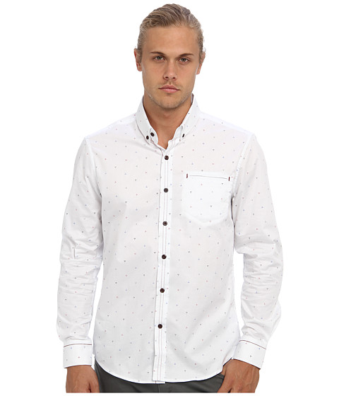 7 Diamonds - Whispering Virtues L/S Shirt (White) Men