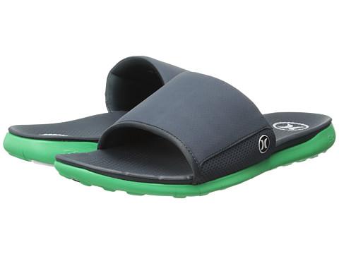 72455517850b UPC 888274791172 product image for Hurley - Phantom Free Slide Sandal  (Poison Green) Men s ...