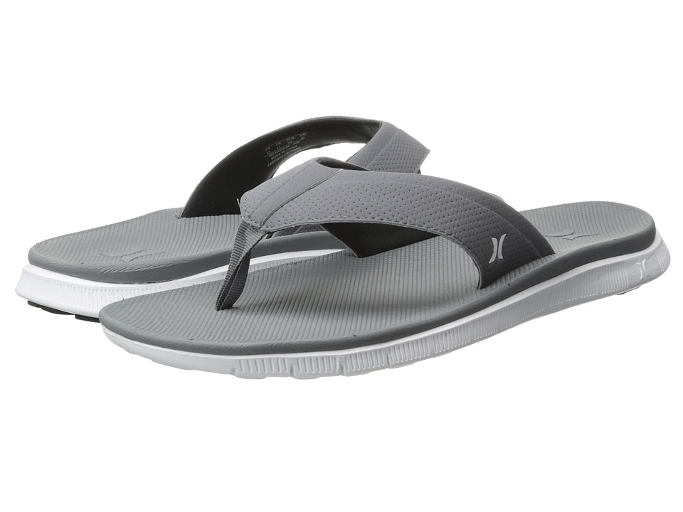 Hurley - Flex Sandal (Cool Grey) Men