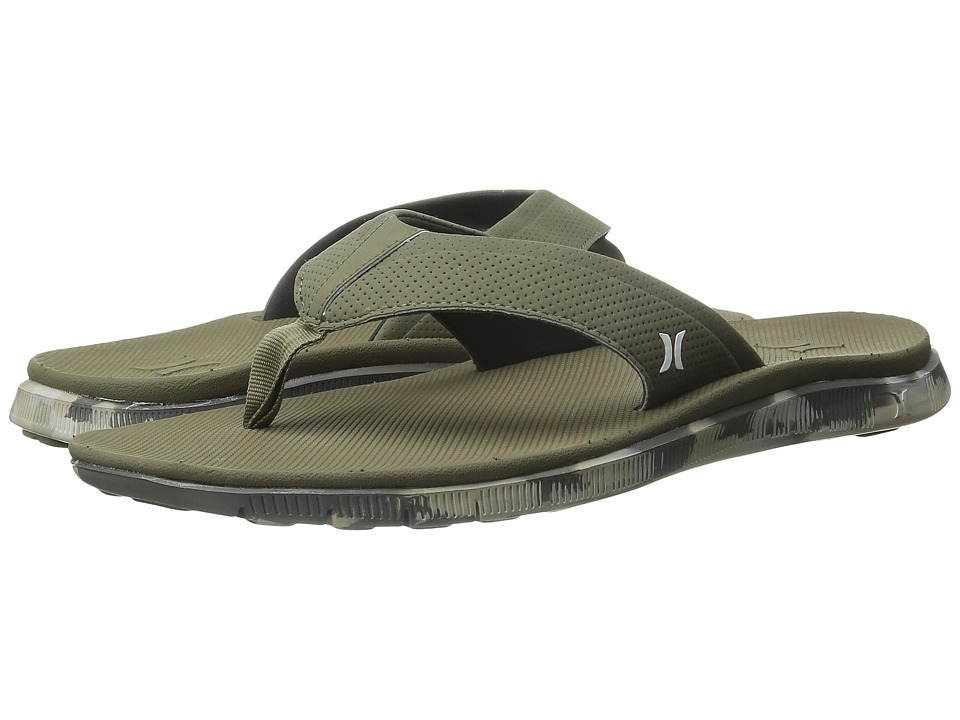 Hurley - Flex Sandal (Medium Olive) Men