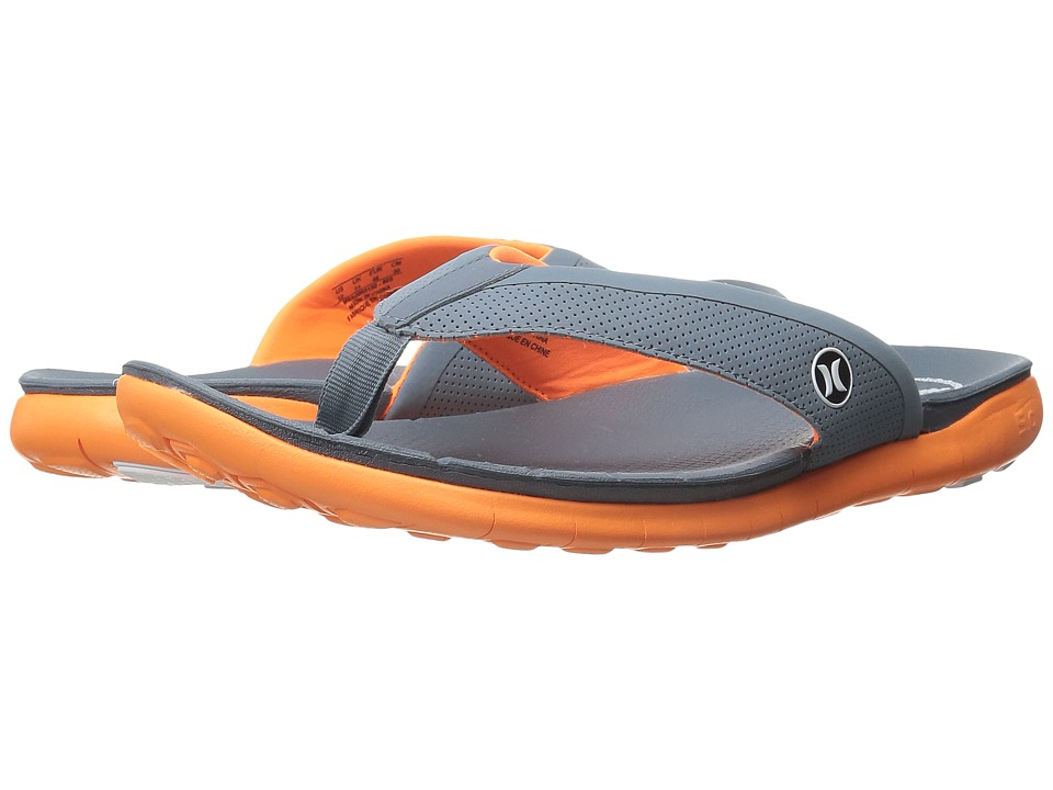 Hurley - Phantom Free Sandal (Total Orange) Men's Sandals