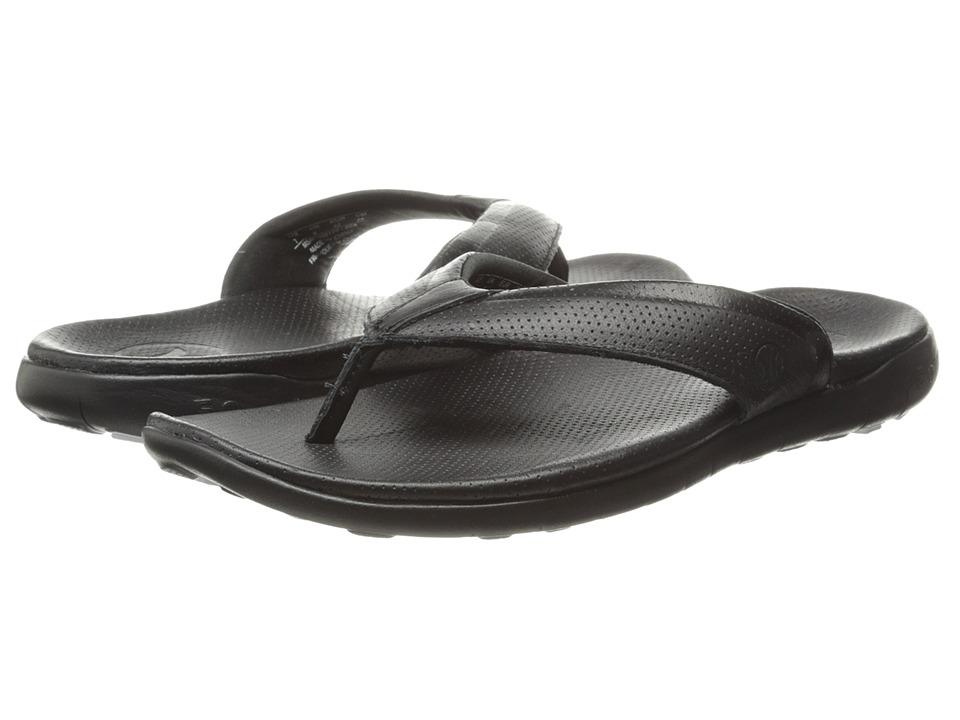 Hurley - Phantom Free Elite Sandal (Black) Men's Sandals