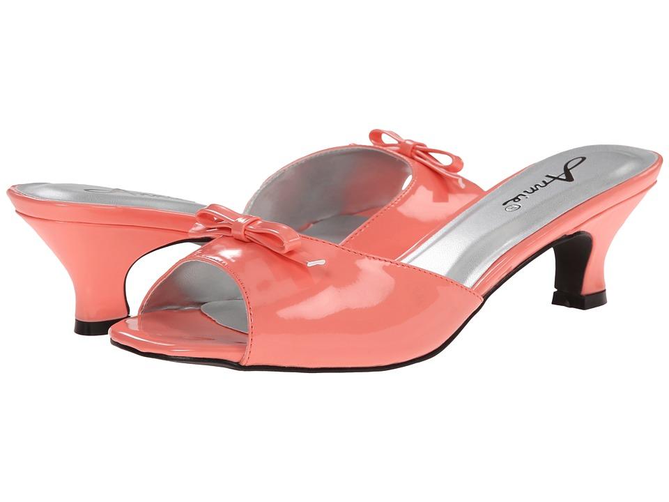 Annie - Kix (Coral) High Heels