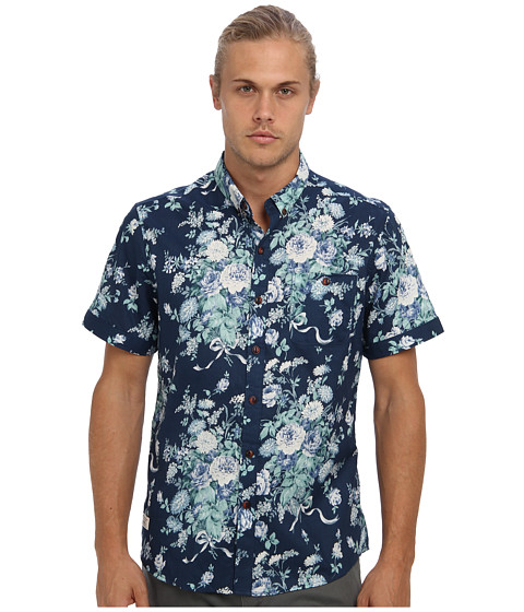 7 Diamonds - Beautiful War S/S Shirt (Blue) Men