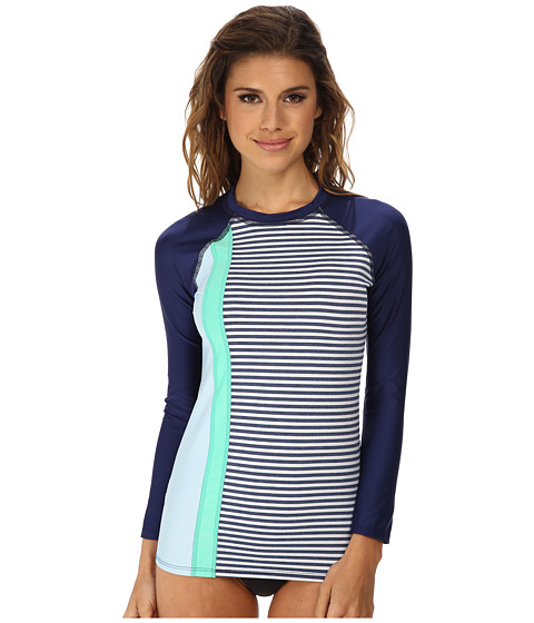 Splendid - The Blues Too Surf Shirt (Navy) Women