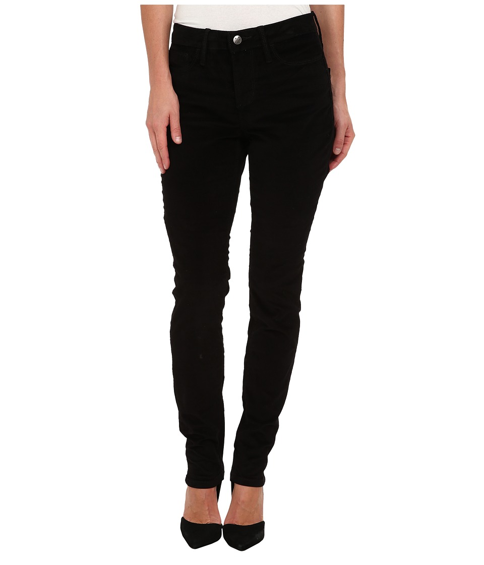 Christopher Blue - Maggie High-Rise Skinny Velveteen (Black) Women's Casual Pants